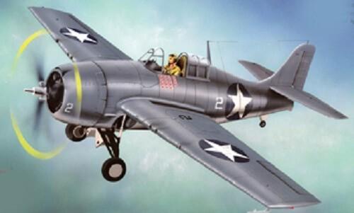 1/48 F4F-4 Wildcat Plastic Model Kit