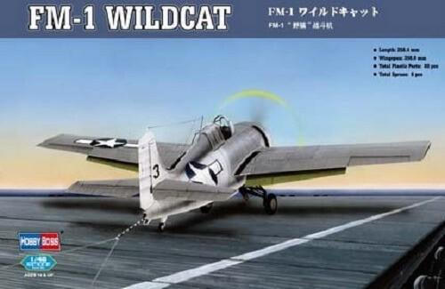 1:48 FM-1 Wildcat Plastic Model Kit