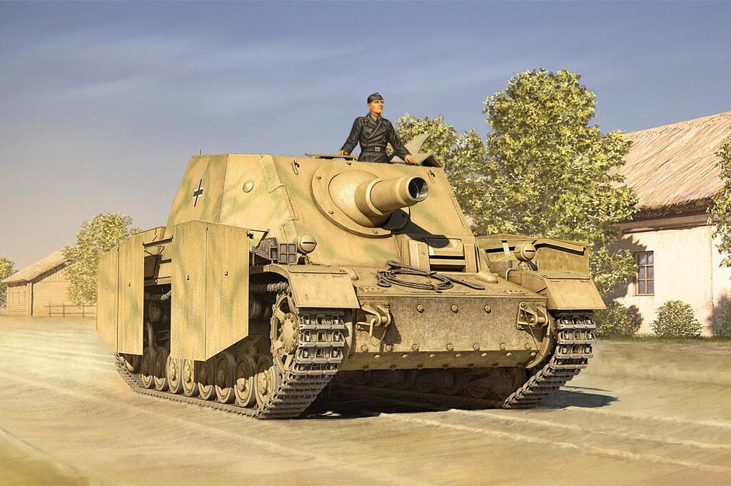 1:35 Sturmpanzer VI Early SDKVZ.166 Plastic Model Kit