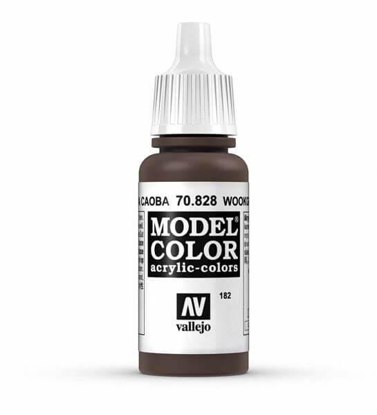 Transparent Woodgrain Model Color 17ml Acrylic Paint
