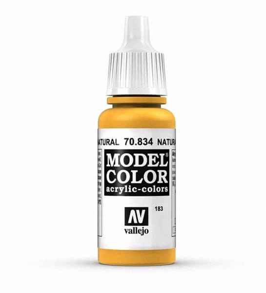 Natural Wood Model Color 17ml Acrylic Paint