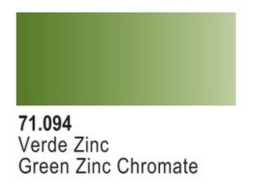 Green Zinc Chromate Model Air Color 17ml Bottle Paint