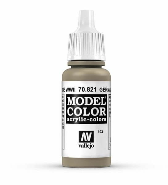 German WWII Camouflage Beige Model Color 17ml Acrylic Paint