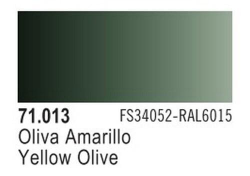 Yellow Olive Model Air Color 17ml Bottle Paint