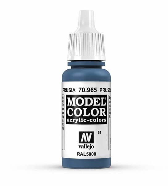 Prussian Blue Model Color 17ml Acrylic Paint