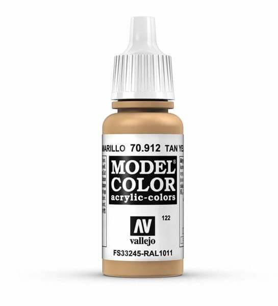 Tan Yellow Model Color 17ml Acrylic Paint