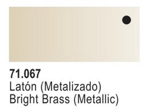 Bright Brass Metallic Model Air Color 17ml Bottle Paint