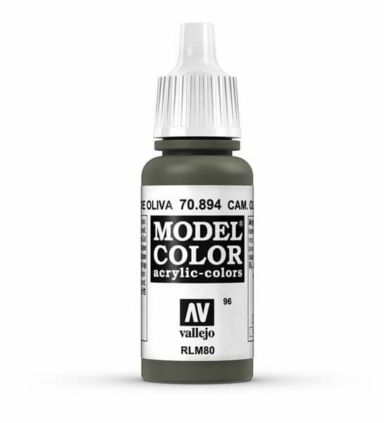Camo Olive Green Model Color 17ml Acrylic Paint