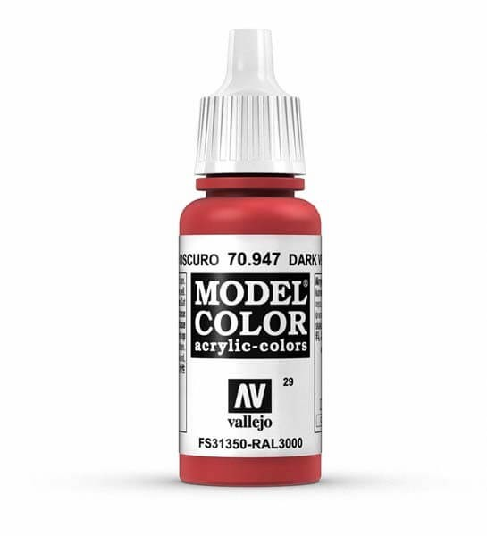 Red Model Color 17ml Acrylic Paint