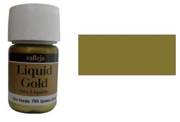 Green Gold 35ml Alcohol Based Paint