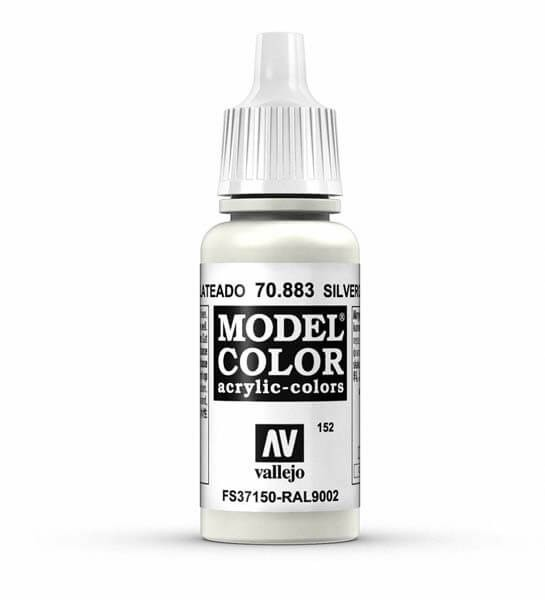 Silver Grey Model Color 17ml Acrylic Paint