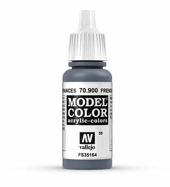French Mirage Blue Model Color 17ml Acrylic Paint