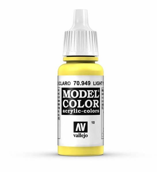 Light Yellow Model Color 17ml Acrylic Paint
