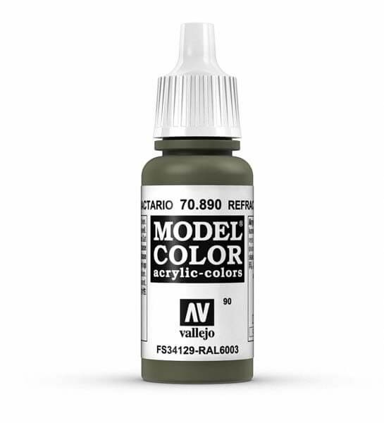 Reflective Green Model Color 17ml Acrylic Paint