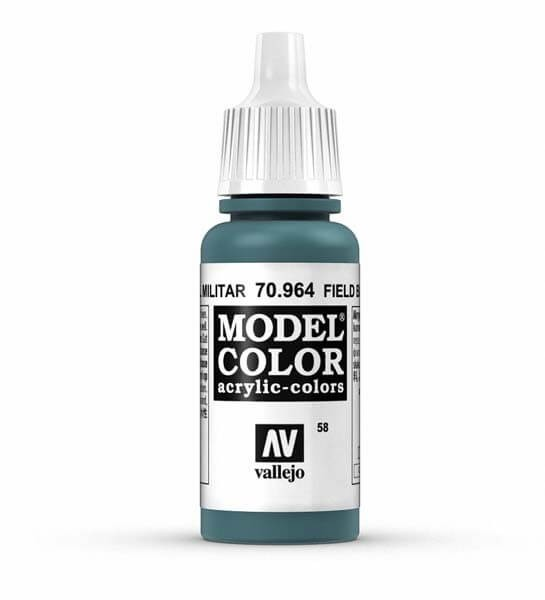 Field Blue Model Color 17ml Acrylic Paint
