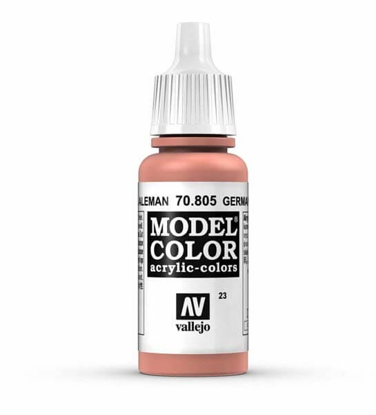 German Orange Model Color 17ml Acrylic Paint