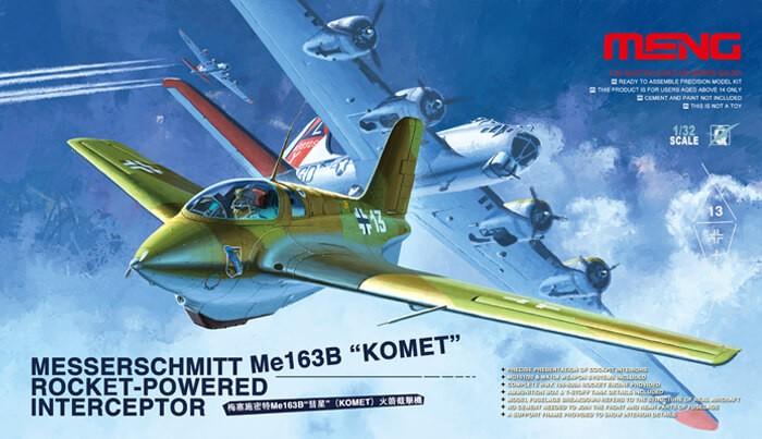 1:32 Messerschmitt ME163B Komet Plastic Model Kit