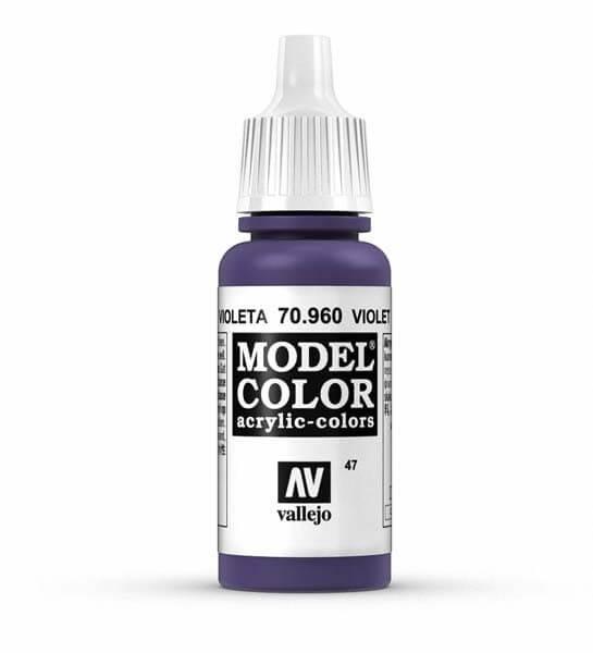 Violet Model Color 17ml Acrylic Paint