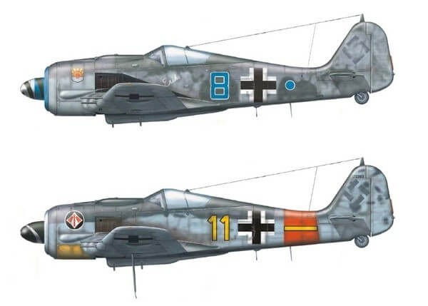 1/48 Fw190A8 Fighter Plastic Model Kit