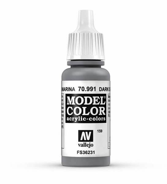Dark Sea Grey Model Color 17ml Acrylic Paint
