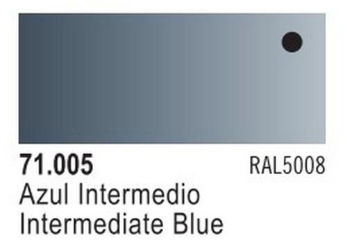 Intermediate Blue Model Air Color 17ml Bottle Paint