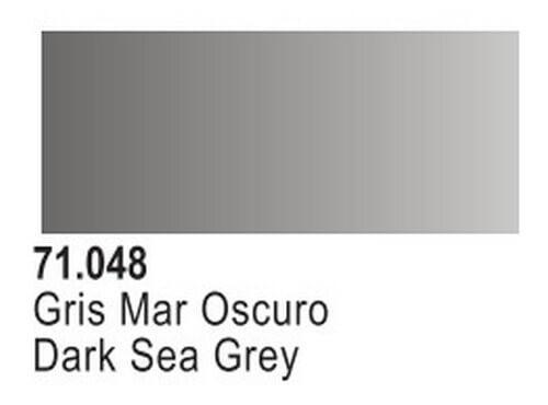 Dark Sea Grey Model Air Color 17ml Bottle Paint