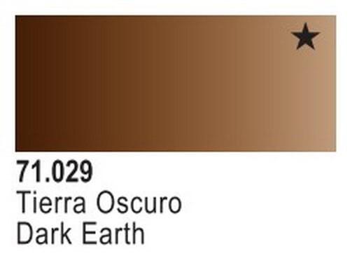 Dark Earth Model Air Color 17ml Bottle Paint