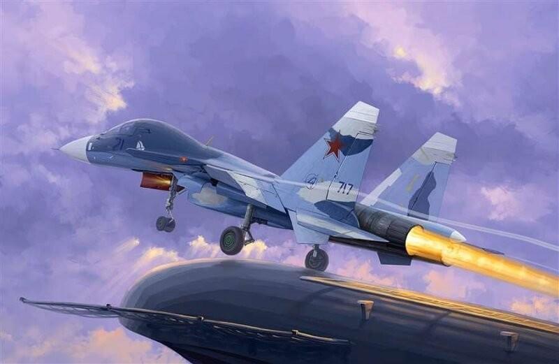 1/72 Sukhoi SU-33UB Flanker D Plastic Model Kit