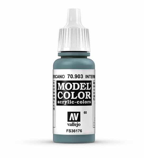Intermediate Blue Model Color 17ml Acrylic Paint