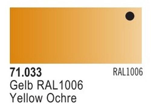 Yellow Ochre Model Air Color 17ml Bottle Paint