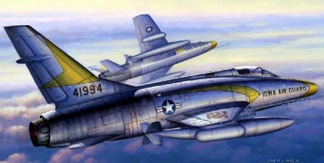 1:48 F-100C Super Sabre