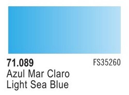 Light Sea Blue Model Air Color 17ml Bottle Paint