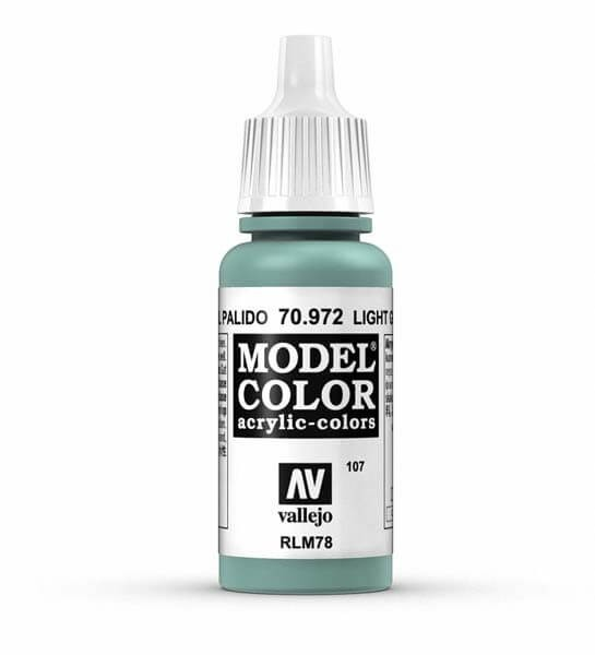 Light Green Blue Model Color 17ml Acrylic Paint
