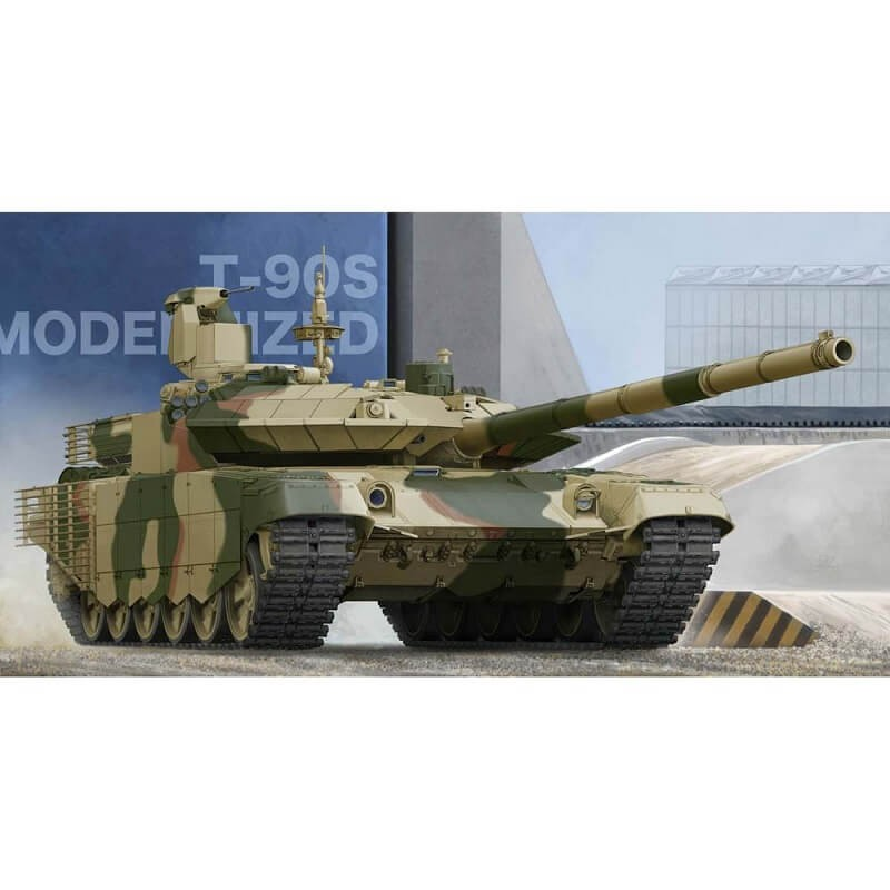 1/35 Russian T-90S Modernized Main Tank Plastic Model Kit