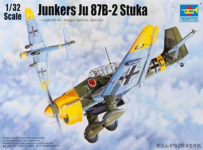 1/32 Junkers Ju-87B-2 Stuka Plastic Model Kit