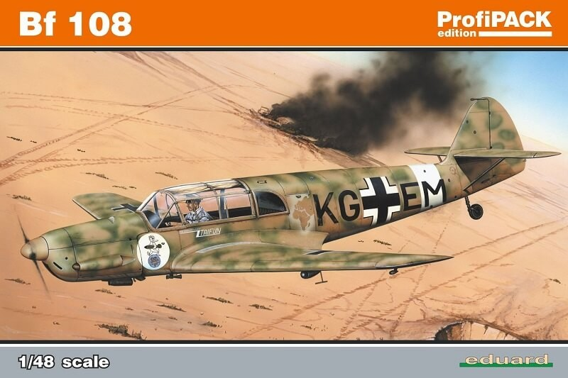 1/48 Messerschmidt Bf 108 Plastic Model Kit