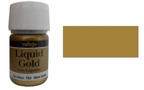 Rich Gold 35ml Alcohol Based Paint