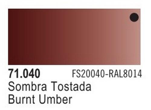 Burnt Umber Model Air Color 17ml Bottle Paint