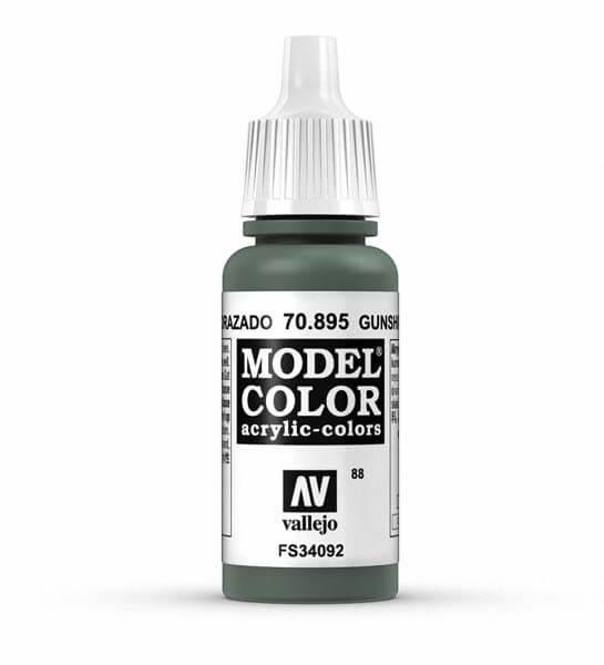 Gunship Green Model Color 17ml Acrylic Paint