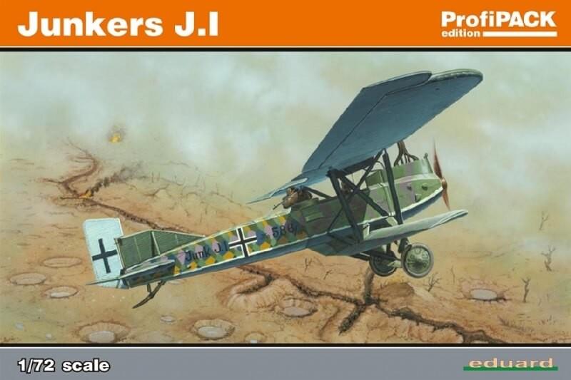 1/72 Junkers J.I Plastic Model Kit