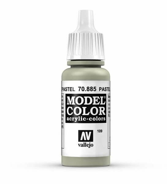 Pastel Green Model Color 17ml Acrylic Paint