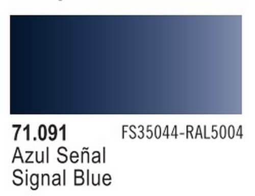 Signal Blue Model Air Color 17ml Bottle Paint