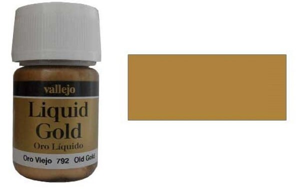 Old Gold 35ml Alcohol Based Paint