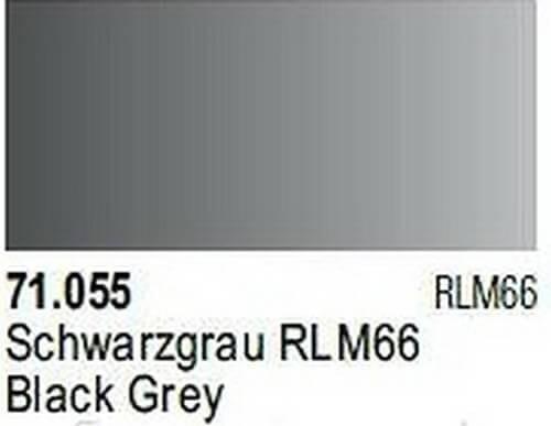 Black Grey Model Air Color 17ml Bottle Paint