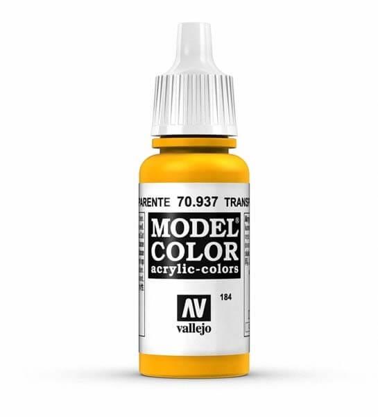 Transparent Yellow Model Color 17ml Acrylic Paint