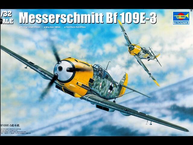 Trumpeter 1:32 Messerschmitt Bf 109E-3 Plastic Model Kit