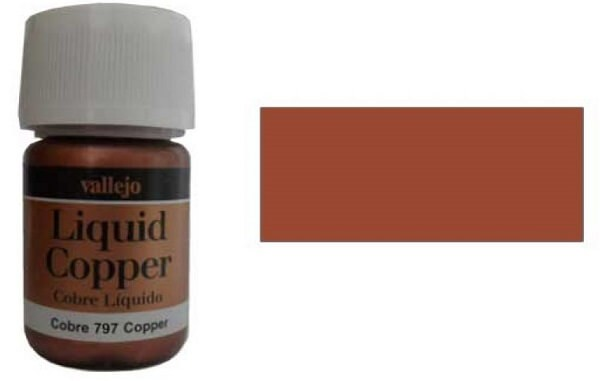 Vallejo Copper 35ml Alcohol Based Paint 70.797