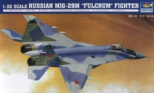 1/32 Russian MIG-29M Fulcrum Fighter Plastic Model Kit