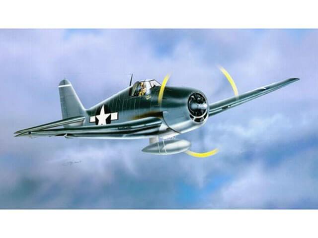 1:32 F6F-3 Hellcat Fighter Plastic Model Kit