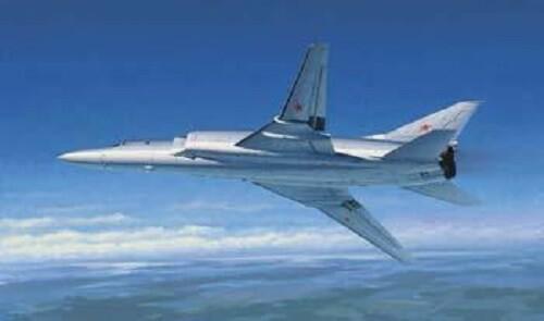 1:72 Tu-22M2 Backfire B Strategic Bomber Plastic Model Kit